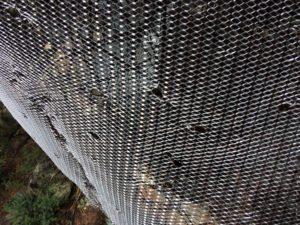 Large Piece of Lath with Hog Rings